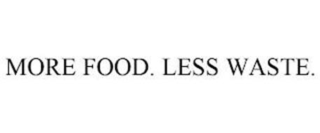 MORE FOOD. LESS WASTE.