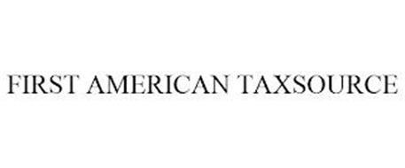 FIRST AMERICAN TAXSOURCE