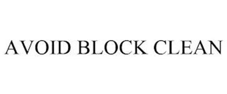 AVOID BLOCK CLEAN