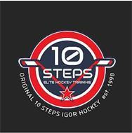 10 STEPS ELITE HOCKEY TRAINING ORIGINAL 10 STEPS IGOR HOCKEY EST. 1998