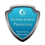 APPI ASSOCIATED PRINTING PRODUCTIONS INC. ANTIMICROBIAL PROTECTED AND POWERED BY BIOMASTER