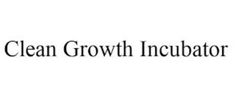 CLEAN GROWTH INCUBATOR