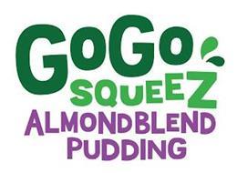 GOGO SQUEEZ ALMONDBLEND PUDDING