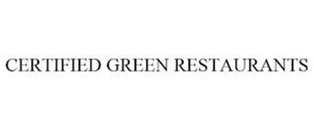 CERTIFIED GREEN RESTAURANTS
