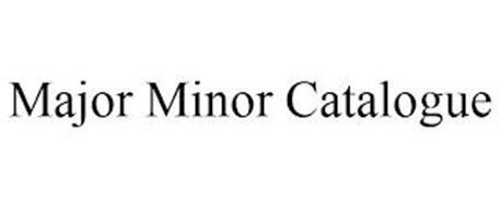 MAJOR MINOR CATALOGUE