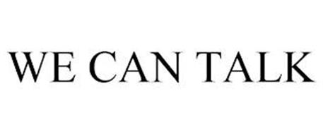 WE CAN TALK