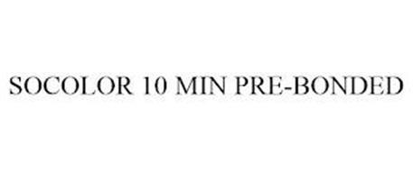 SOCOLOR 10 MIN PRE-BONDED