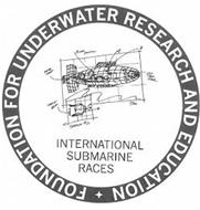 FOUNDATION FOR UNDERWATER RESEARCH AND EDUCATION INTERNATIONAL SUBMARINE RACES SKETCH #01 THRUST BLOW 8 DUCTED THRUST POWER POSITION 2 2ND TRIM TANK 7M