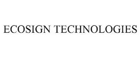 ECOSIGN TECHNOLOGIES
