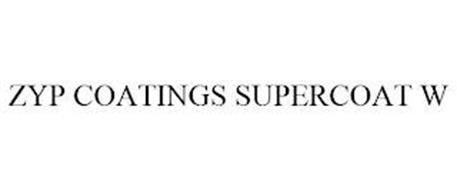 ZYP COATINGS SUPERCOAT W