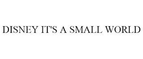 DISNEY IT'S A SMALL WORLD