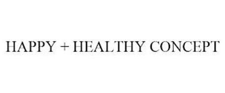 HAPPY + HEALTHY CONCEPT