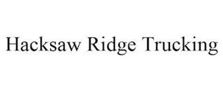 HACKSAW RIDGE TRUCKING