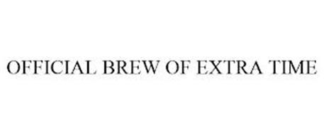 OFFICIAL BREW OF EXTRA TIME