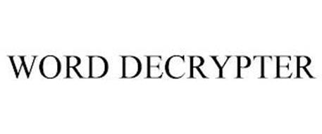WORD DECRYPTER