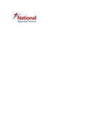 NATIONAL APPRAISAL SERVICE