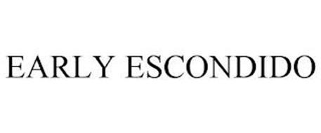 EARLY ESCONDIDO