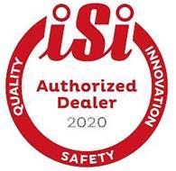 ISI AUTHORIZED DEALER 2020 QUALITY INNOVATION SAFETY