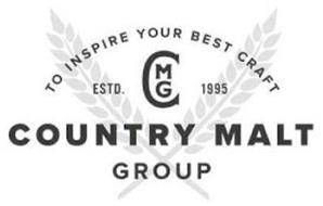 COUNTRY MALT GROUP TO INSPIRE YOUR BEST CRAFT ESTD. CMG 1995