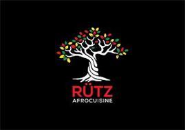 RÜTZ AFROCUISINE