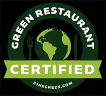 CERTIFIED GREEN PRODUCT DINEGREEN.COM