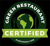 CERTIFIED GREEN RESTAURANT DINEGREEN.COM