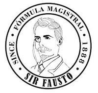 SIR FAUSTO · SINCE · FORMULA MAGISTRAL · 1888 ·
