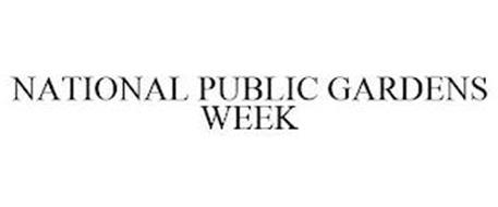 NATIONAL PUBLIC GARDENS WEEK