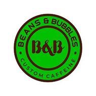 · BEANS & BUBBLES ·B&B CUSTOM CAFFEINE