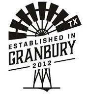 TX ESTABLISHED IN GRANBURY 2012