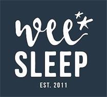 WEE SLEEP EST. 2011