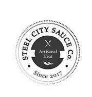 STEEL CITY SAUCE CO. ARTISANAL HEAT SINCE 2017