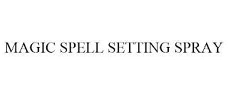 MAGIC SPELL SETTING SPRAY