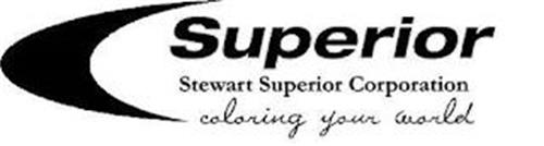 SUPERIOR STEWART SUPERIOR CORPORATION COLORING YOUR WORLD