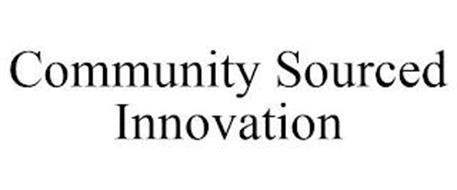 COMMUNITY SOURCED INNOVATION