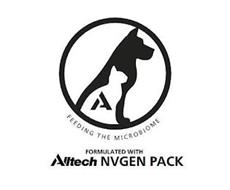 A FEEDING THE MICROBIOME FORMULATED WITH ALLTECH NVGEN PACK