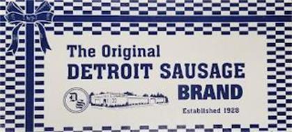 THE ORIGINAL DETROIT SAUSAGE BRAND ESTABLISHED 1928