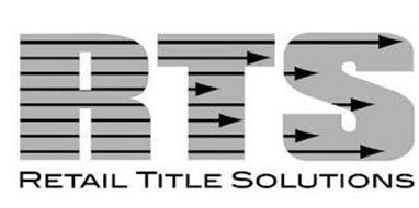 RTS RETAIL TITLE SOLUTIONS