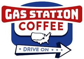 GAS STATION COFFEE DRIVE ON