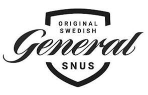 GENERAL ORIGINAL SWEDISH SNUS