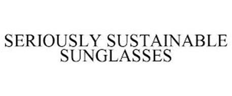 SERIOUSLY SUSTAINABLE SUNGLASSES