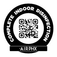 COMPLETE INDOOR DISINFECTION BY AIRPHX