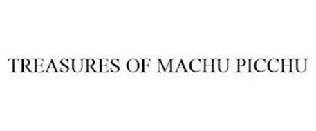 TREASURES OF MACHU PICCHU