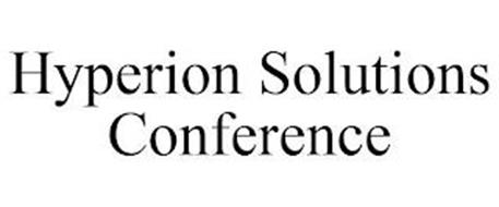 HYPERION SOLUTIONS CONFERENCE