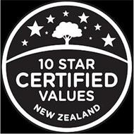 10 STAR CERTIFIED VALUES NEW ZEALAND
