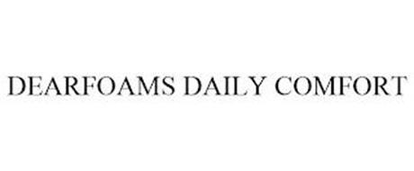 DEARFOAMS DAILY COMFORT