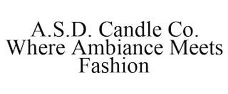 A.S.D. CANDLE CO. WHERE AMBIANCE MEETS FASHION
