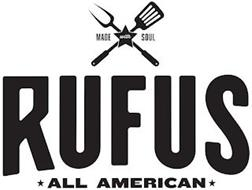 MADE WITH SOUL RUFUS ALL AMERICAN