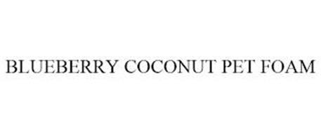 BLUEBERRY COCONUT PET FOAM