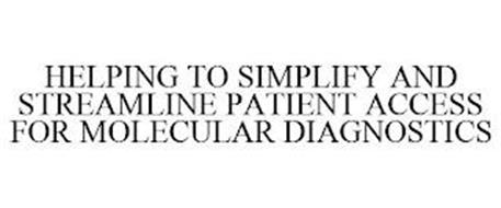 HELPING TO SIMPLIFY AND STREAMLINE PATIENT ACCESS FOR MOLECULAR DIAGNOSTICS